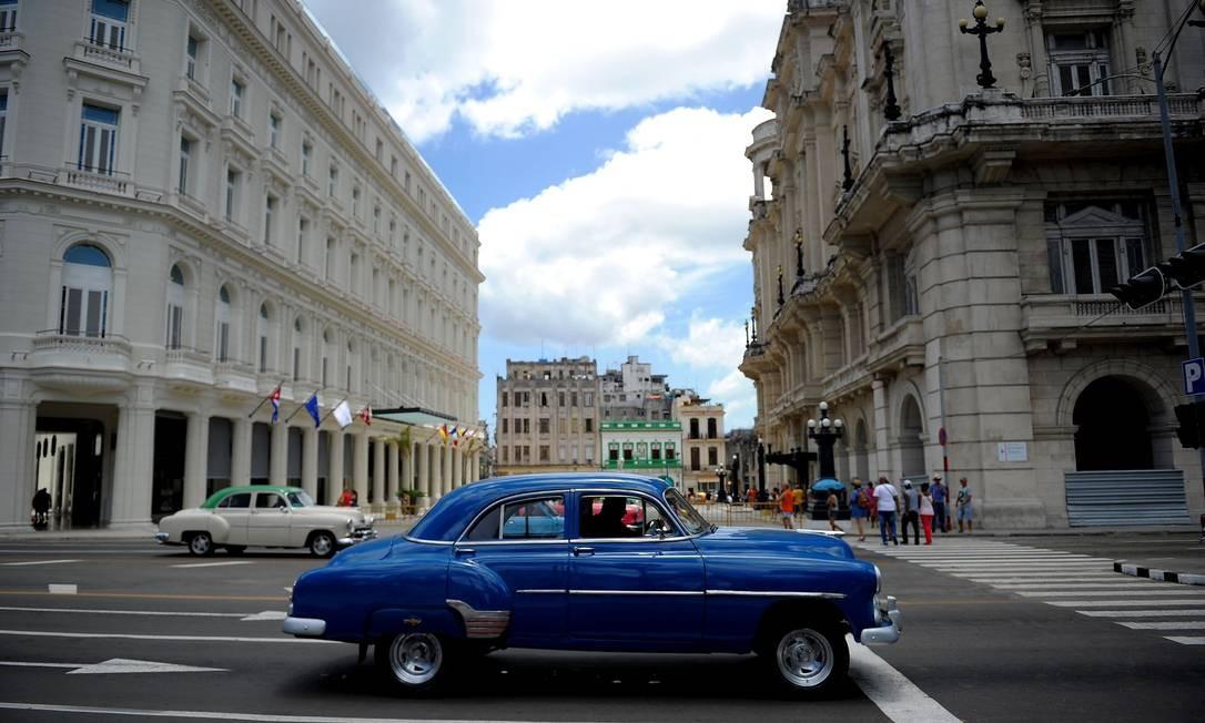Nos próximos meses, outros dois hotéis de luxo abrirão as portas em Havana, que serão operados pelos grupos Iberostar e Accor, também europeus. Foto: Yamil Lage / AFP