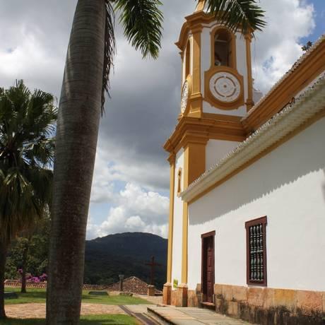 Matriz. A igreja de Santo Antônio, no centro histórico de Tiradentes Foto: Ana Beatriz Marin / Fotos de Ana Beatriz Marin