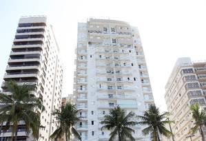 O apartamento tríplex do Guarujá Foto: Michel Filho / O Globo