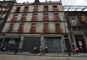 A expansão de um hotel foi interrompida pelas descobertas arqueológicas em seu terreno Foto: Marco Ugarte / AP