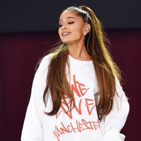 Ariana Grande no show beneficente 'One love Manchester' Foto: Dave Hogan / AP