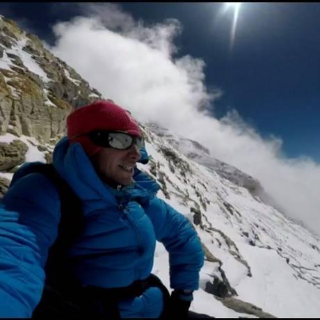 Kilian Jornet completou a escalada do Everest duas vezes em uma semana Foto: REPRODUÇÃO/FACEBOOK