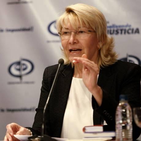 Luisa Ortega rompeu com o chavismo após escalada de repressão e convocação de Constituição Foto: El Nacional/GDA