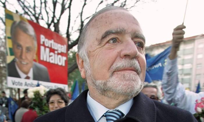 Manuel Alegre: escritor português venceu o Prêmio Camões 2017 Foto: Marcos Borga / Reuters