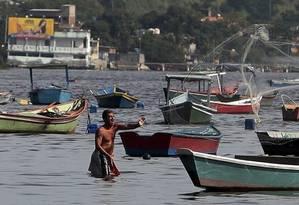 Só 10% dos cerca de barcos são cadastrados na Capitania Foto: Agência O Globo / Thiago Freitas