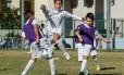 Alunos da clínica de futebol do clube espanhol realizada em Fortaleza no ano passado