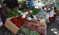 Feira livre em Ipanema. Foto Custodio Coimbra