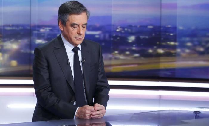 François Fillon, ex-primeiro-ministro francês, é membro dos Republicanos e foi o candidato nas eleições presidenciais Foto: POOL / Reuters