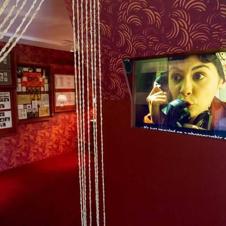 """Paris no cinema. Cena de """"O fabuloso destino de Amélie Poulain"""" Foto: Divulgação / Extra"""