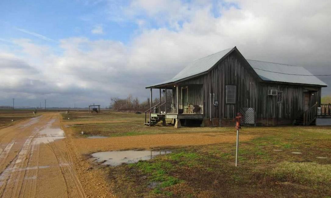Uma cabana preservada em Tallahatchie Flats em Greenwood, Mississippi: um exemplo de algumas construções rústicas que podem ser alugadas por noite Foto: Beth J. Harpaz