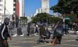 Os usários foram retirados da Praça Princesa Isabel e ficaram na Rua Helvetia até o local ser limpo pela prefeitura. No meio da tarde voltaram a ocupar a praça