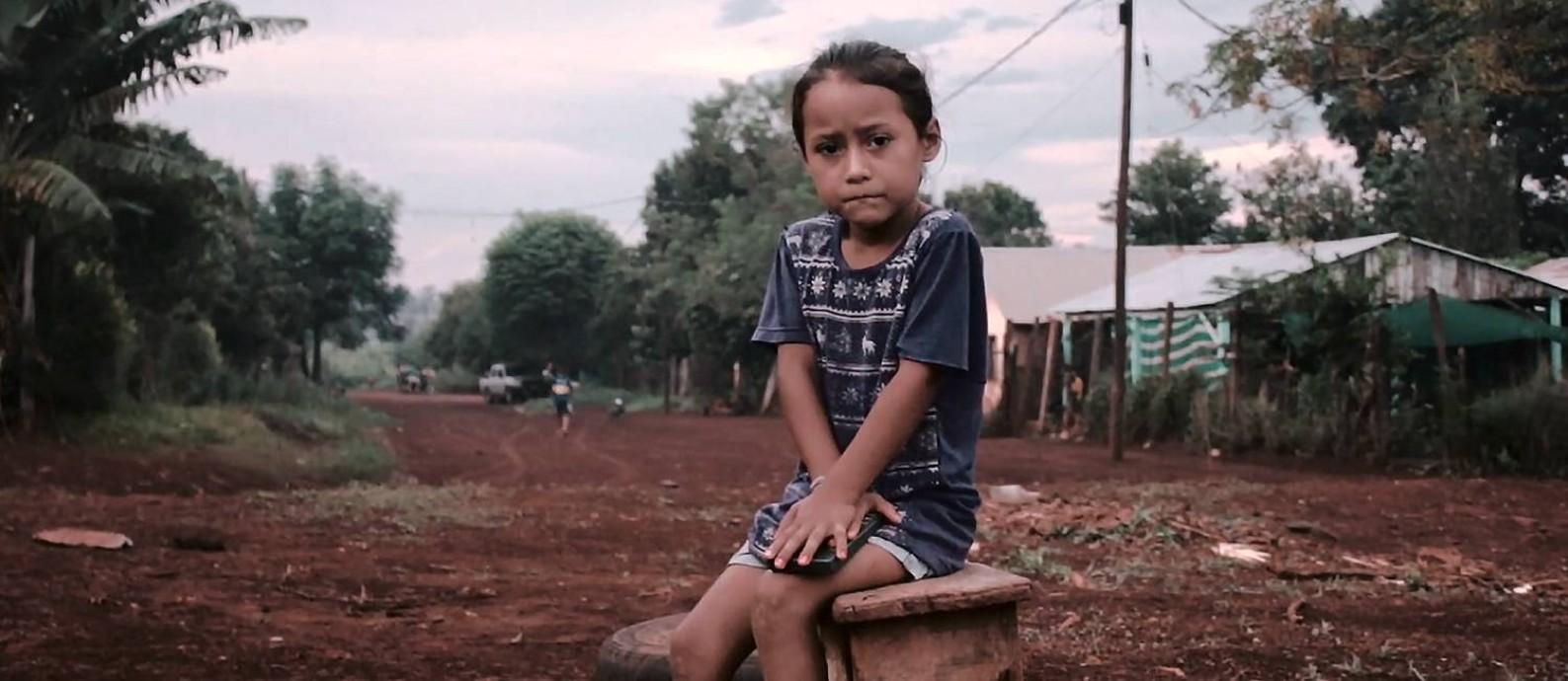 """Criança retratada em """"Me gusta el mate sin trabajo infantil"""", que será exibido a partir de sábado no 64º Festival Internacional de Criatividade Cannes Lions: apelos até ao papa Foto: Divulgação /"""