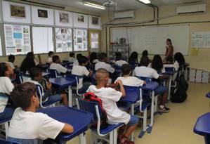 Estudantes em sala de aula deveriam ter a liberdade de debater assuntos relacionados à diversidade de gênero, na visão de Janot Foto: Zeca Gonçalves / Agência O Globo