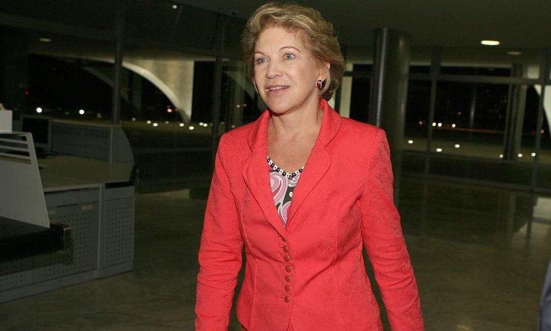 A ex-prefeita de São Paulo Marta Suplicy Foto: Roberto Stuckert Filho 19/03/2007 / Agência O Globo