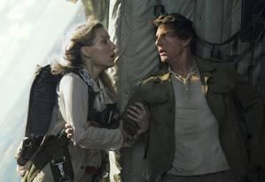"""Cena do filme """"A múmia"""", estrelado por Tom Cruise e Annabelle Wallis Foto: Chiabella James / AP"""
