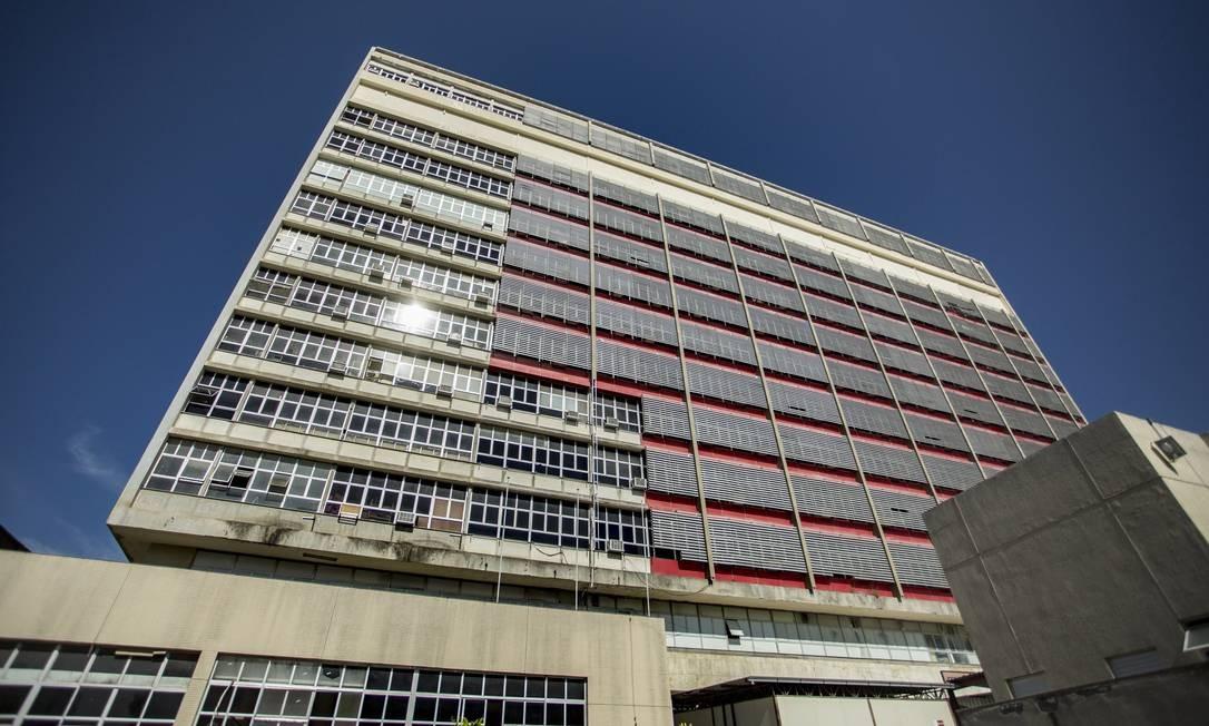 A fachada do Hospital Federal do Andaraí Foto: Ana Branco / Agência O Globo