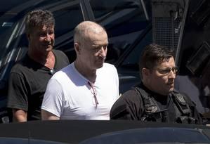 Eike Batista foi preso pela Polícia Federal em janeiro Foto: MAURO PIMENTEL 08-02-2017 / AFP