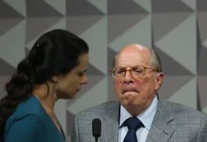 Reale Junior estava filiado ao PSDB desde 1990 Foto: André Coelho / Agência O Globo