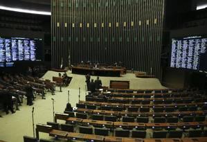 Plenário da Câmara dos Deputados Foto: Ailton Freitas / Agência O Globo