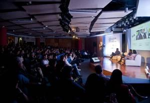 Evento reuniu profissionais de diversas áreas Foto: Agência O Globo