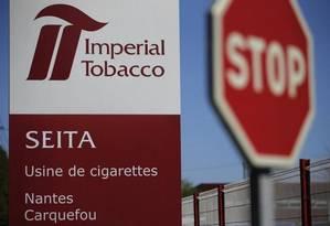 Há um ano e meio, a Imperial Brands abandonou o tabaco no nome Foto: Stephane Mahe / REUTERS