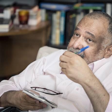 Jorge Bastos Moreno Foto: Leo Martins / Agência O Globo