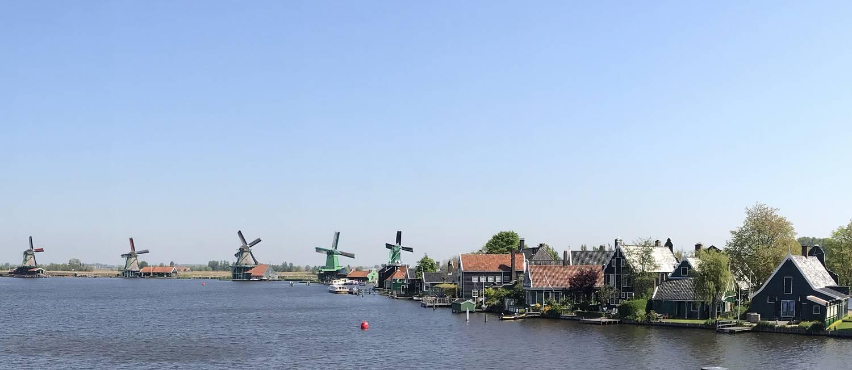 Moinhos. Em Zaanse Schans, a paisagem mais típica da Holanda Foto: Ricardo Largman