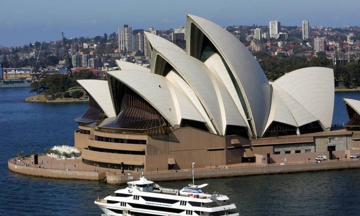 A Ópera de Sydney Foto: Greg Wood / Greg Wood/AP