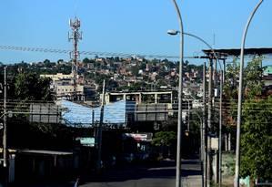Complexo do Chapadão (foto) seria uma das áreas a receber ações sociais do plano Foto: Fabiano Rocha / O Globo