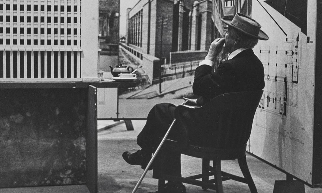 Frank Lloyd Wright: mostra no MoMa destaca os 150 anos de nascimento do arquiteto Foto: Divulgação