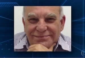 Arlon Vianna, chefe de gabinete da Presidência em São Paulo Foto: Reprodução / TV Globo