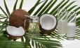 O óleo de coco é composto por 82% de ácidos graxos saturados