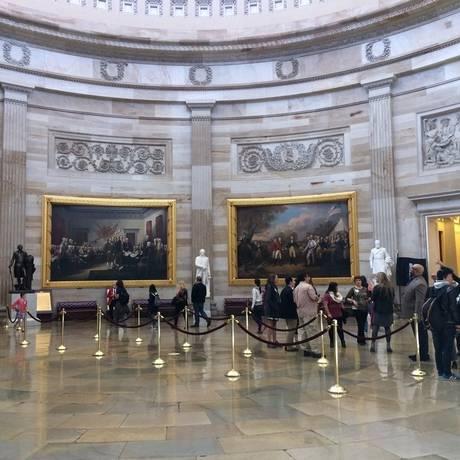 Capitólio. Visitas guiadas à sede do Legislativo dos EUA Foto: Ana Paula Ribeiro / fotos de Ana Paula Ribeiro