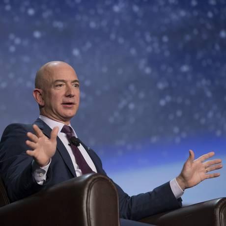 O fundador da Amazon, Jeff Bezos Foto: Matthew Staver / Bloomberg