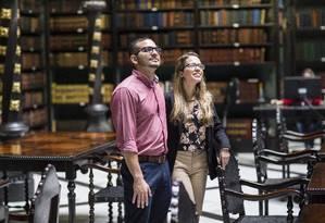 Os namorados Gustavo Ponzo e Laís Said se preparam para cursar mestrado na Universidade do Porto: instituição dá até 50% de desconto para brasileiros Foto: Fernando Lemos