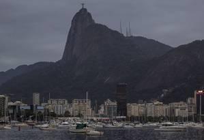 RI Rio de Janeiro (RJ) 03/09/2015 - Amanhecer na Urca Praia Vermelha . Foto Thiago Lontra / Agencia O Globo Foto: Thiago Lontra / Thiago lontra/3-9-2015