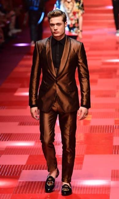 Dolce & Gabbana, verão 2018 MIGUEL MEDINA / AFP