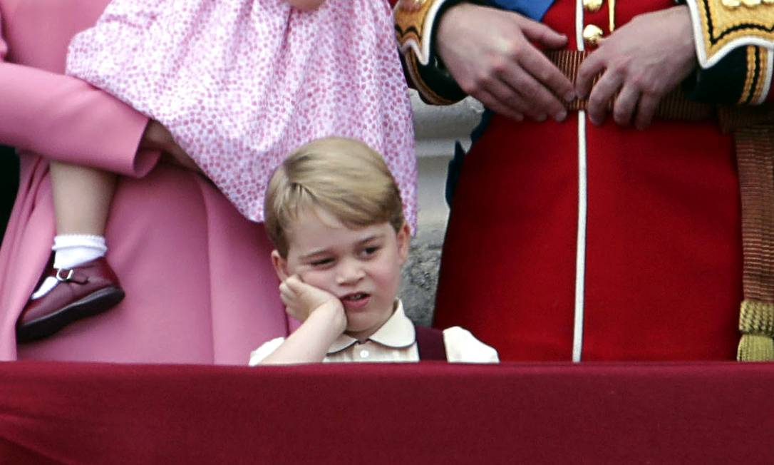 Príncipe George: o mais clicado da cerimônia Yui Mok / AP