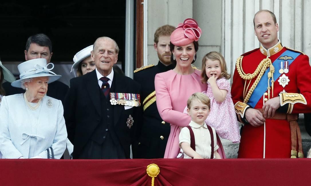A família real Kirsty Wigglesworth / AP