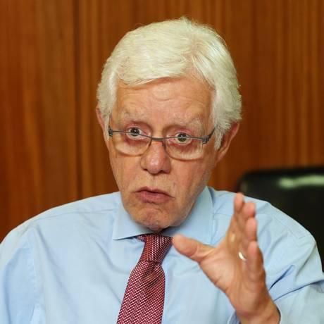 O ministro da Secretaria-Geral da Presidência da República, Moreira Franco Foto: Givaldo Barbosa / Agência O Globo