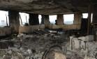 Interior de um dos apartamentos depois de incêndio na Torre de Grenfell Foto: Divulgação Polícia de Londres