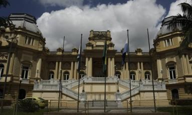 O Palácio Guanabara, sede do governo do Estado do Rio Foto: Gabriel de Paiva / Agência O Globo