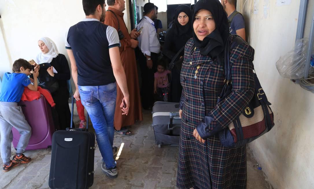 Vizinha da Síria, a Turquia é o país que mais recebe refugiados NAZEER AL-KHATIB / AFP
