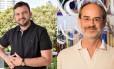 José Almeida Junior e João Meirelles Filho: vencedores na categoria romance e contos, respectivamente Foto: Divulgação / Agência O GLOBO