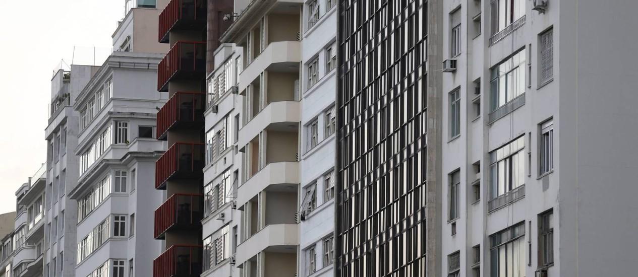 Imóveis terão o valor do IPTU reajustado de acordo com projeto de lei que a prefeitura enviará na semana que vem para a Câmara dos Vereadores Foto: Pablo Jacob / Agência O Globo