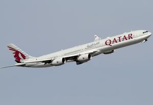 Qatar Airways venceu como melhor companhia aérea do mundo Foto: Divulgação/Qatar Airways