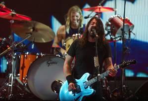 Dave Grohl, líder do Foo Fighters Foto: Duda Bairros