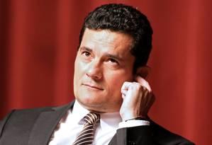 O juiz Sérgio Moro, da 13ª Vara Federal de Curitiba, responsável pelos processo da Operação Lava-Jato na primeira instância na capital paranaense Foto: Heuler Andrey / AFP / 23-11-2016