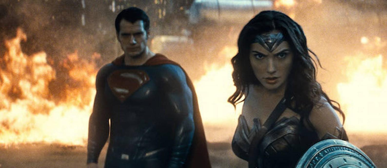 Cena do filme 'Batman vs Superman: A Origem da Justiça' Foto: Divulgação