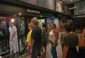 No teatro funcionava as salas Marília Pêra e Fernanda Montenegro Foto: Márcio Alves / O Globo